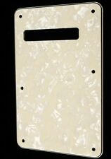 NEW BACKPLATE aged pearl white stratocaster  pour guitare strat