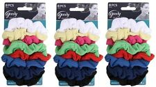 """Goody Ouchless Ribbed Hair Scrunchies - Assorted Colors """" 24 Scrunchies """""""