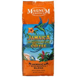 Jamaica Blue Mountain Blend Coffee Whole Bean 2 lb