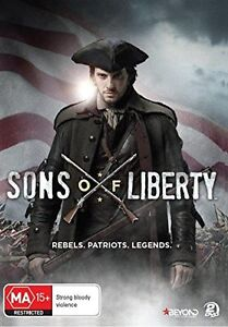 SONS OF LIBERTY : COMPLETE MINISERIES  -  DVD - UK Compatible - sealed