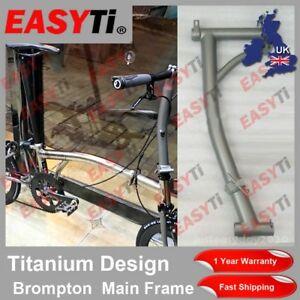 EasyTi Titanium Ti CNC Main Frame for Brompton Folding Bike