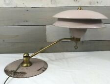 Atomic Lamp Brass 50's UFO Mid Century Space Age Lavender ART SPECIALLY COMPANY