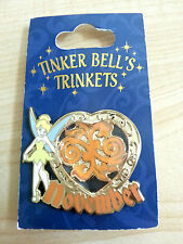 Brand New Disney Pin Tinker Bell Trinkets Birthstone Collection 2013 November