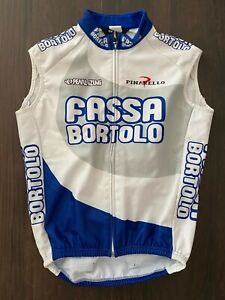 Fassa Bortolo Team Issued Pearl Izumi Thermal Vest Gilet Small Pockets