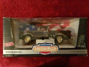 "American Muscle 1978 Dodge "" Warlock "" Diecast Pickup Truck in 1/18th scale."