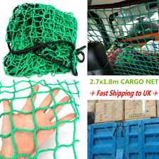 1.8m x 2.7m Green Cargo Net Strong Heavy Duty Truck Trailer Dumpster Car Covers