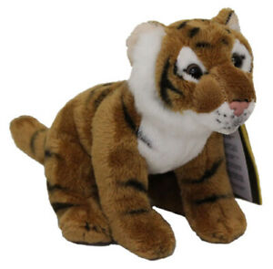 National Geographic Tiger [15cm] Soft Plush Stuffed Animal Toy NEW