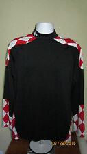 Adult Medium Flow Society Lacrosse Long Sleeve Compression Shirt Grip Shoulders