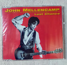 "CD AUDIO INT/ JOHN MELLENCAMP ""LAST CHANCE"" CD PROMO NEUF SOUS BLISTER RARE"