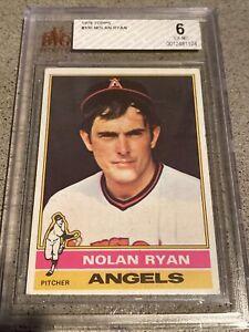 1976 Topps #330 Nolan Ryan BVG 6 EX-MT Angels