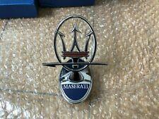 Maserati Quatrroporte Ghibli Levante Front Bumper Stereoscopic Emblem modified