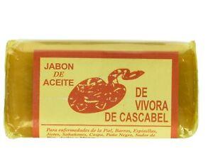 3 JABONES ACEITE DE VIBORA DE CASCABEL RATTLE SNAKE SOAP BARS
