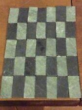 100 REAL SLATE  Floor Tiles for dollshouse and models