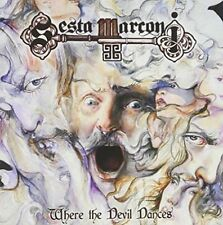 SESTA MARCONI - Where the Devil Dances [CD - LIKE NEW]