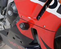 R&G Crash Protectors Aero Style for Honda CBR600RR (2013 -2016) DRILL KIT  BLACK