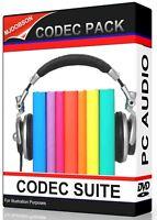 VIDEO CODEC CODEC PACK AUDIO HUGE COLLECTION Instant Download