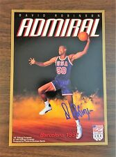 "1992 Kellogg Co DAVID ROBINSON USA Olympic Barcelona 9.5"" X  7"" Poster  C3105626"