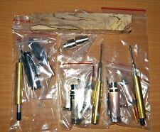 3 kits Antique Rose and Bronze and Black Enamel 30 Caliber Bolt Action Pen Kits