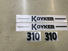 Koyker 310 Loader Decals