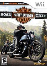 Wii Harley Davidson Road Trip Nintendo Motor Cycle Game