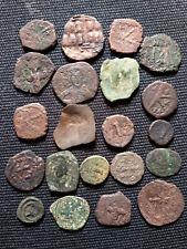 Lot - 21 byzantinische Bronzemünzen,  14-27 mm. gering erhalten