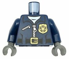 LEGO NEW DARK BLUE MINIFIGURE TORSO FIGURE PIECE