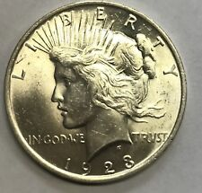 1923  **GEM UNCIRCULATED** PEACE DOLLAR FROM A FRESH OLD ESTATE  #68