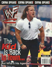 WWF Magazine October 1998 WWE Shawn Michaels Chyna Sable D-Lo Brown Goldust