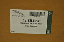 GENUINE OE JAGUAR X-TYPE WATER PUMP. C2S43292.$219.00.GASKET SEPARATE.