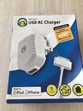 2 X Symtec Usb Ac Charger Made For iPod- iPhone