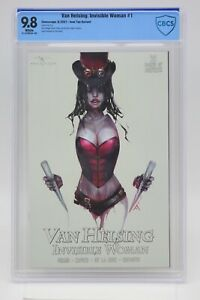 Van Helsing Invisible Woman (2021) #1 Ivan Tao CBCS 9.8 Blue Label White Pages