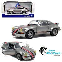 Solido 1:18 - 1973 Porsche 911 RSR (Silver) Backdating Outlaw - Diecast Model