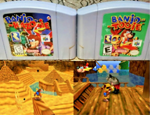Banjo Kazooie or Tooie - Nintendo 64 N64 - Cart Only - New Condition - Free Ship