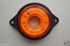 2 pcs x 12V LED Side Marker Amber Indicators Rotating Lights Truck Trailer Lorry
