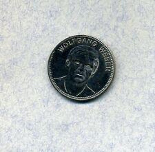 Wolfgang Weber -- Shell -- Fussball -- Medaille -- Mexiko 1970 -- Ø 28 mm --