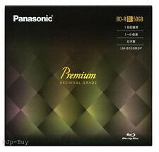 50 Years Archival Grade Panasonic Premium Bluray Disc BD-R DL 50GB 6x Speed