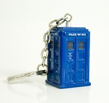 """DOCTOR WHO """"TARDIS KEYRING"""" 10th Doctor Diecast metal keyring NEW in Package"""