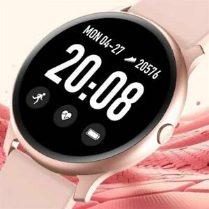 Women Lady Smart Watch Heart Rate Blood Pressure Fitness Tracker iOS Android UUK