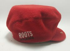 Roots Athletic Small Olympic Fleece Nordic Canada Hat Red Nagano 1998