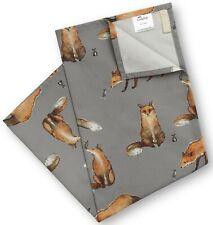 AGA Cookshop Fox and Mouse Teal Towel