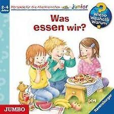 Was essen wir?: Wieso? Weshalb? Warum? junior CD