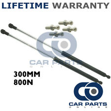 2X Muelles de gas puntales Universal Kit de coche o de conversión 300 mm 30 cm 800N & 4 Pines