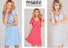 Muzzy Breastfeeding Nightdress cotton S-XXL many colours