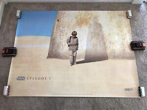 "Star Wars Episode I The Phantom Menace Genuine Cinema Lucasfilm Poster 40""x30"""