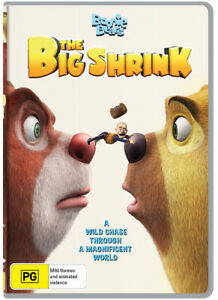 Boonie Bears: The Big Shrink (DVD) NEW/SEALED
