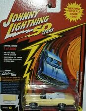 JOHNNY LIGHTNING 50 YEARS 69 CHEVY IMPALA CONVERTIBLE WITH RUBBER TIRES V/A-R/1