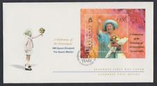 Guernsey-Alderney 2000 FDC Block 8  100. Geburtstag von Königin Mutter Elisabeth