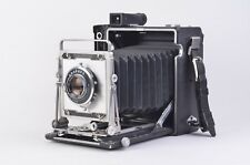 EXC++ GRAFLEX CROWN GRAPHIC 4x5 w/OPTAR 135mm f4.7 LENS, CLEAN! TESTED *READ