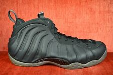 dc4bf0c7c34 CLEAN 2012 NIKE AIR FOAMPOSITE ONE 1 STEALTH BLACK 314996-010 Size 11