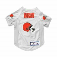 NEW CLEVELAND BROWNS DOG CAT DELUXE STRETCH JERSEY
